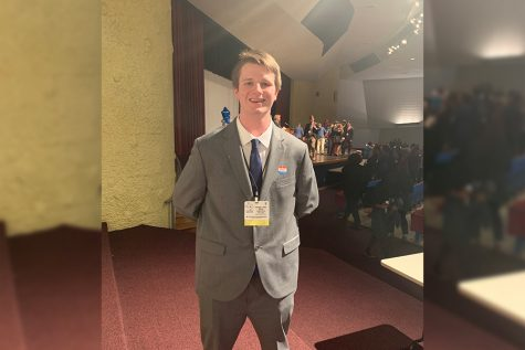 Leading the way, Mills' joins Texas Model UN