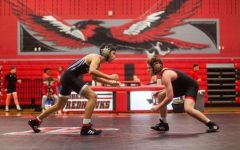 Red vs Black scrimmage rolls wrestling into season