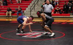 Wrestling ends in mixed results
