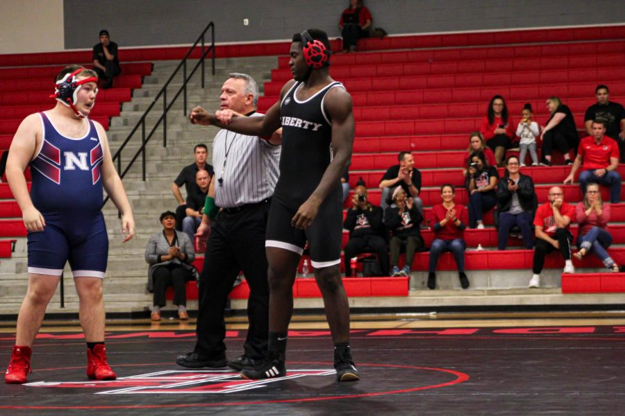 Wrestling took second in two different tournaments over the weekend with girls competing in the Coppell Cowgirl Classic and boys in the Liberty Throwdown. Reflecting their success, senior  Princess Egbuchunam placed first in the 165 lb weight class.