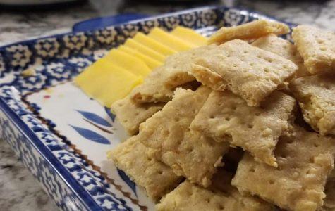 Goodbye Gluten: cheese crackers