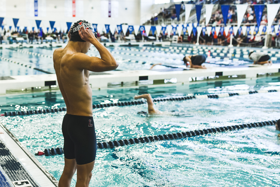 TISCA meet puts swim team to the test