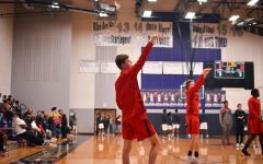 Soaring over the Lions, Redhawks sweep district basketball games