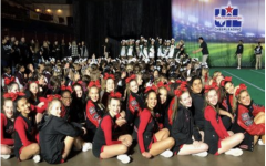 Three points shy of finals, UIL cheer season concludes