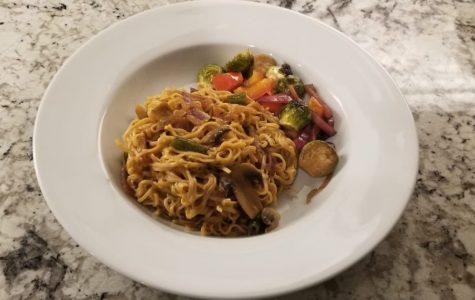 Goodbye Gluten: stir fry noodles