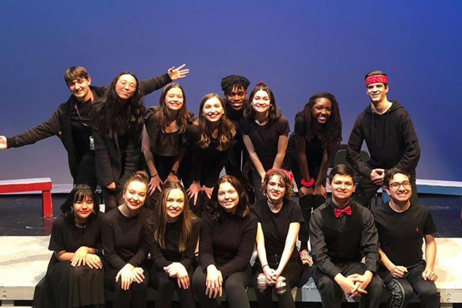 Put on the spot, improv show debuts