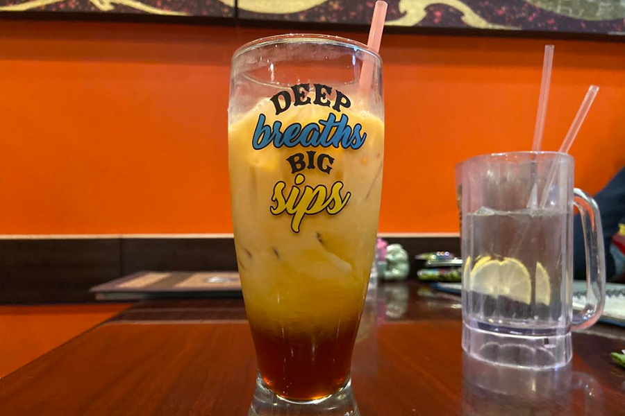 Despite her friends recommendation, Wingspan's Kanz Bitar was dissatisfied with Thai tea at Best Thai due to its bitterness.