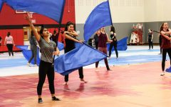 From the field to the stage, winter guard begins