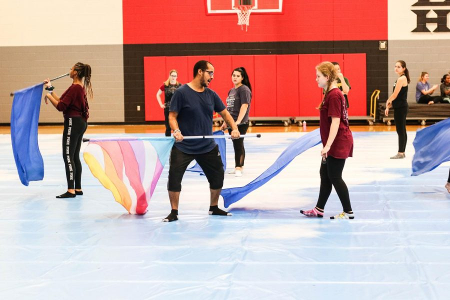 Winterguard will put their skills to the test on Saturday, March 7, 2020 for the NTCA Competition. JV will begin at 3:50 p.m. and varsity at 8:12 p.m. at South Grand Prairie High School.