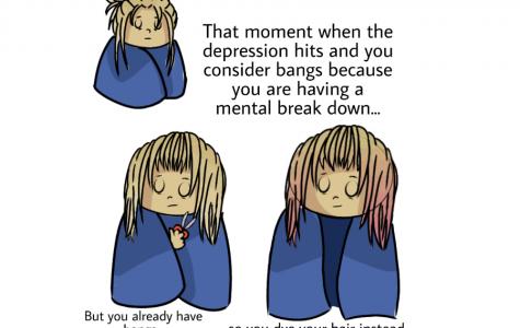 Comic: mental breakdown
