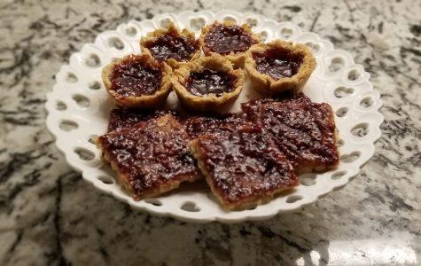 Raspberry tarts