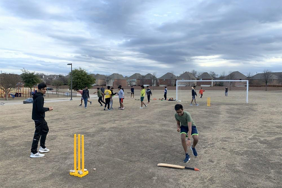Straying+away+from+traditional+American+sports%2C+cricket+club+meets+on+Fridays+during+advisory.+The+club+holds+its+matches+on+the+weekends%2C+sharing+their+love+for+the+sport.