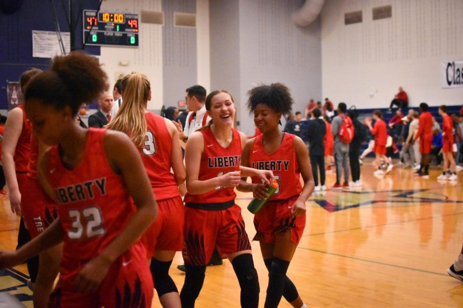 The+girls%27+team+enters+their+third+round+of+playoffs+Tuesday+night+against+Centennial%2C+a+team+they%27ve+beaten+twice+this+season.+Play+begins+at+7+p.m.+at+Lebanon+Trail.