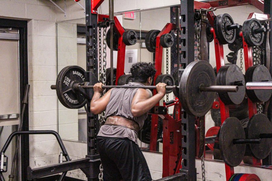 Thursday night the Redhawk powerlifters continue their season at Reedy High School. The teams hope to use this as a chance to advance to regionals.