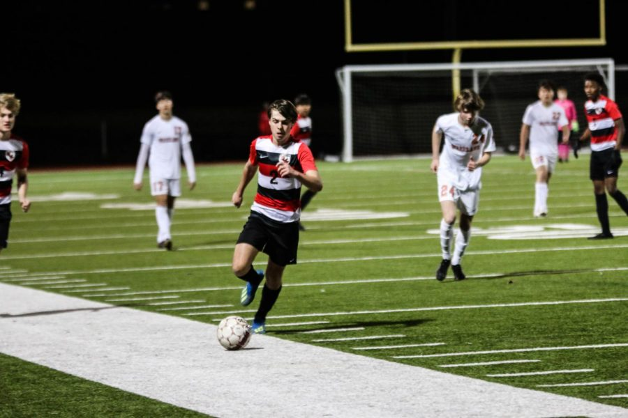 Friday night both boys' and girls' soccer took on the Reedy lions. In both games the Redhawks were able to stop them from scoring, (0-0 girls and 2-0 boys)