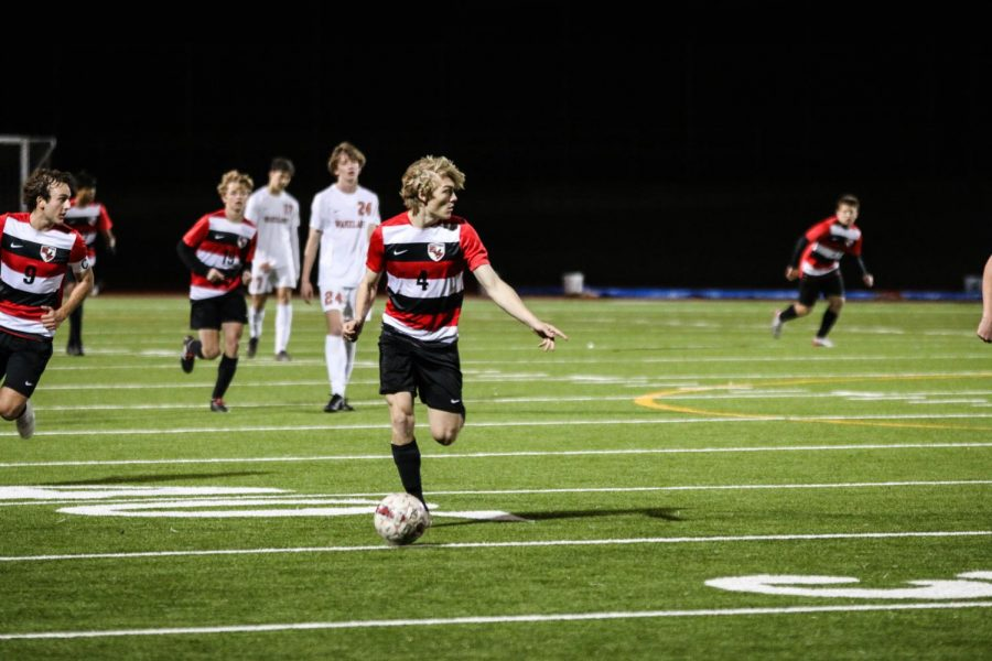 Playoff positioning is on the line for both the boys' and girls' soccer teams when they take on Reedy High School Friday. With just two games left in District 9-5A play, a win for either team could go a long way to ensuring a playoff bid.