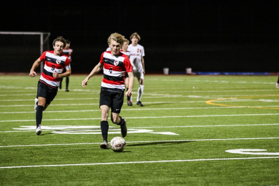 Both the boys' and girls' soccer take on the Reedy Lions Friday night. The girls play at home at 5:30, while the boys play away at 7:30.