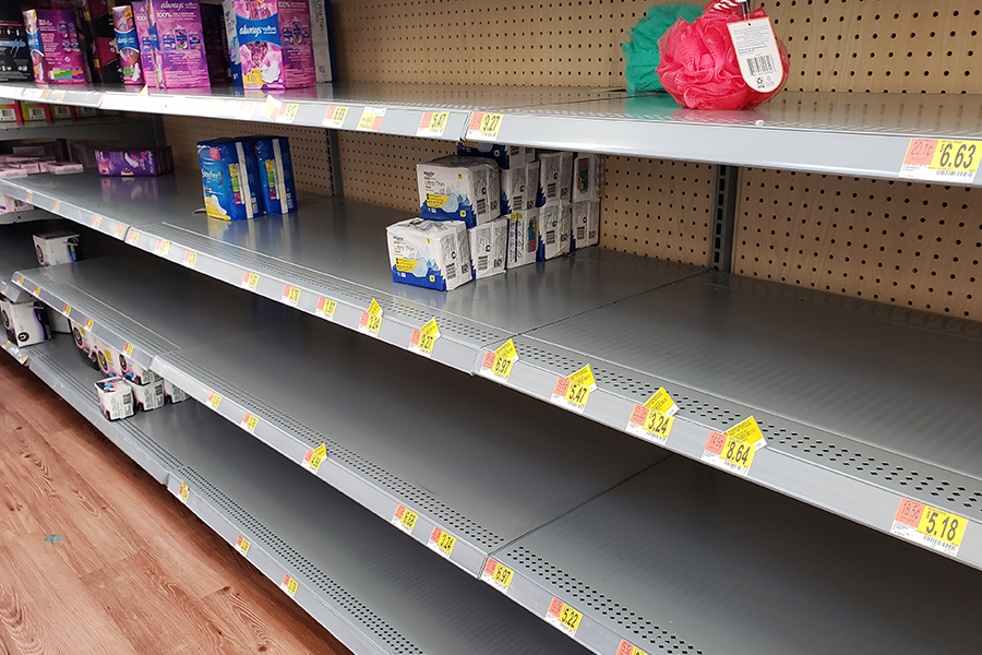With the nation in panic, stores have been cleared out of basic necessities like toilet paper. Wingspan's Ayooluwa Olotu gives her thoughts on these drastic measures.