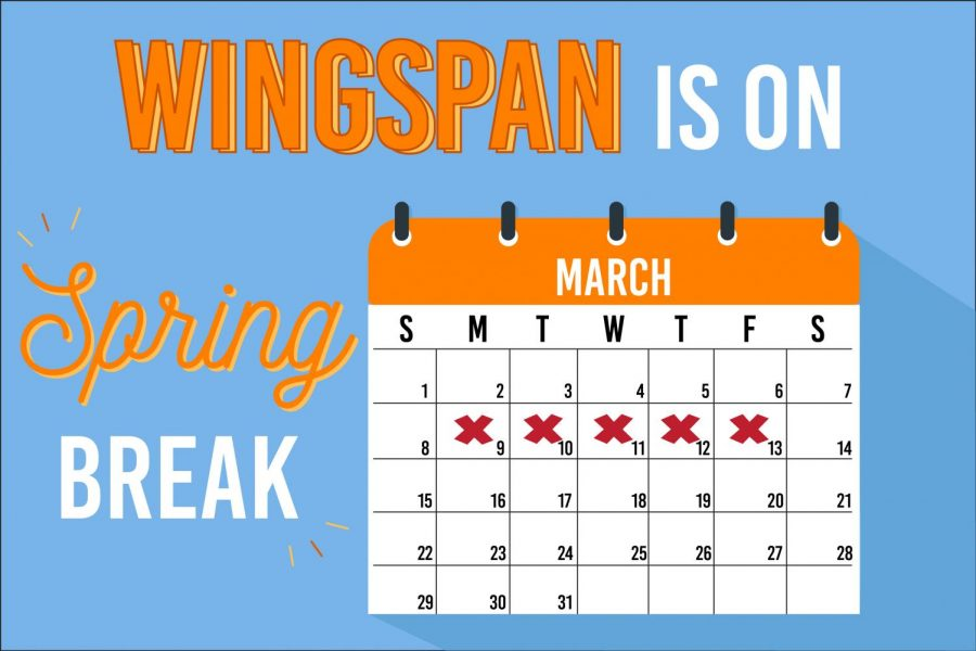 Spring break begins Monday, March 9 and runs until March 13. Along with new content, classes will resume on March 16.
