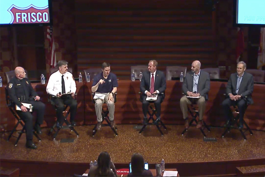 Gathered for a virtual town hall on Monday March 16, Frisco city leaders addressed the local response to the COVID-19 outbreak. With four cases reported in Frisco it remains unclear how long schools will remain closed.