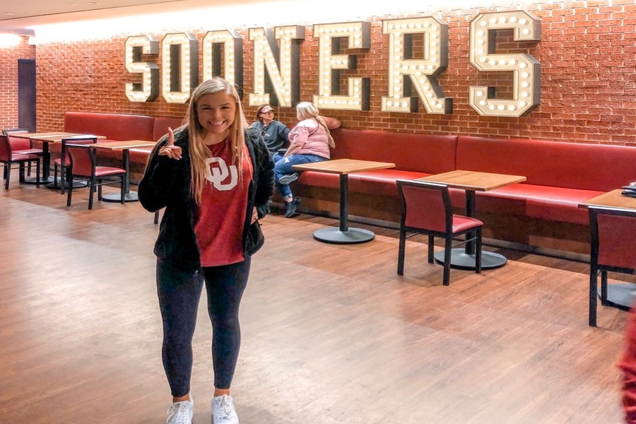 Senior Rileigh Horcher plans on attending the University of Oklahoma in the fall. However, starting classes in person could be in jeopardy as colleges move summer orientation online.