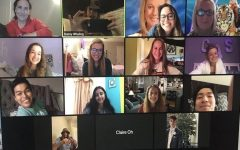 Seniors take prom online in light of the scheduled date