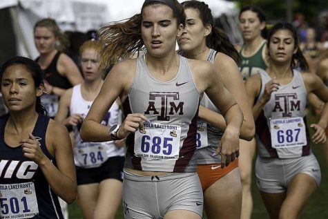 Class of 2018, graduate Carrie Fish runs for Texas   A&M University. She is using her time at home to prepare for cross country season in August.