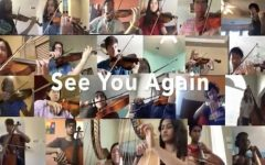 Orchestra performs See You Again by Wiz Khalifa via Zoom