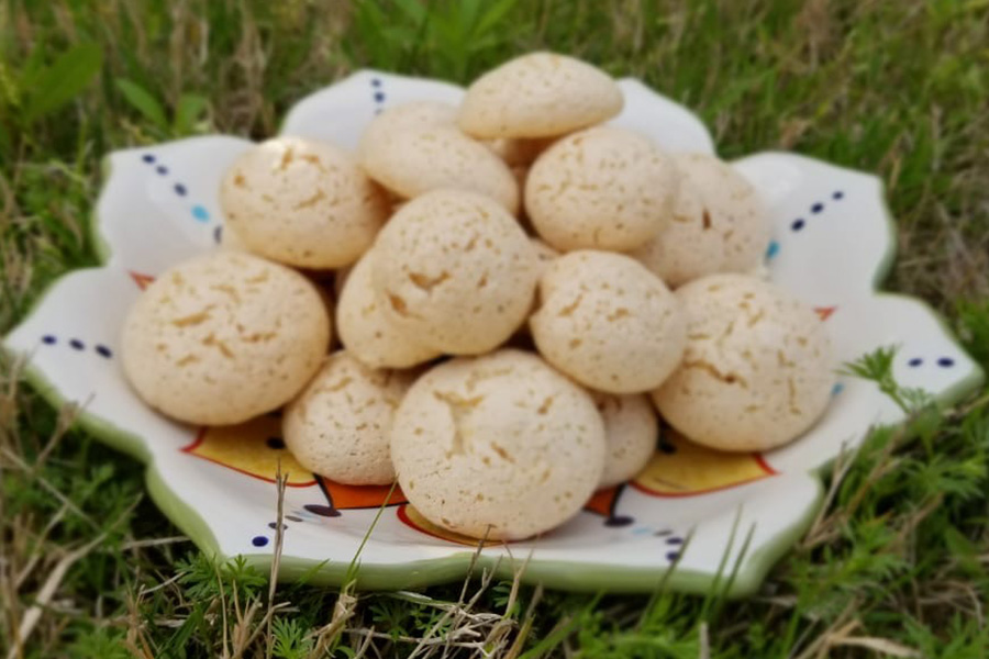 When she was little, Girish often watched videos on how to make meringues cookies, but could never get it right. After some trial and error, Girish has come to find and create a gluten-free meringue cookie recipe that works for her.