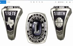 After returning from Houston as 5A state champs, the girls' basketball team has the opportunity to design their state champion rings. For the athletes, this serve as unique keepsake from their time together as a team.