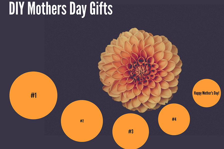 Making a Mother's Day gift