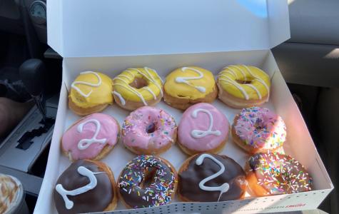 Krispy Kreme donuts served excessively sugary