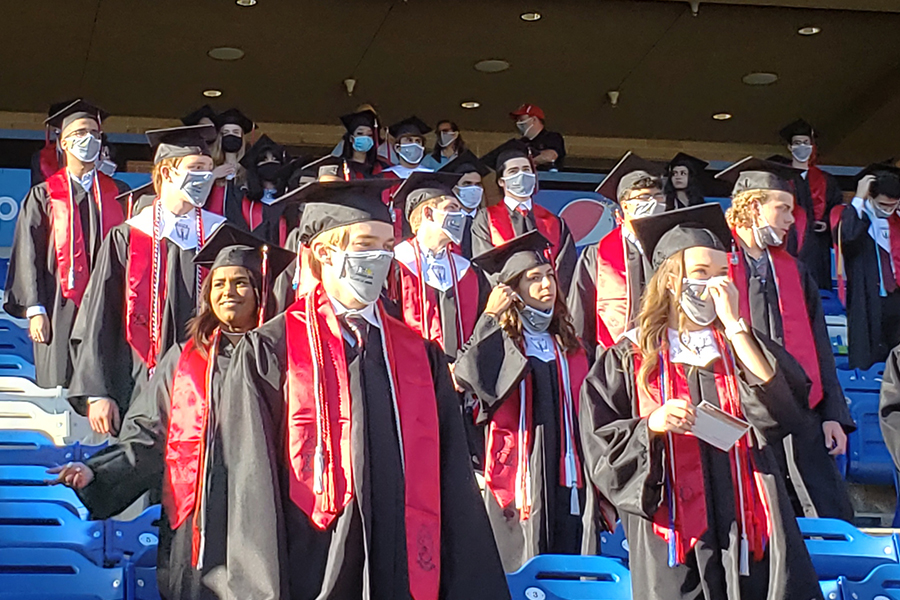 Like the graduation ceremony in 2020, graduates will be responsible for getting themselves to commencement ceremonies. Unlike the event last year, the 2021 ceremony will be held at The Ford Center at The Star, rather than Toyota Stadium.