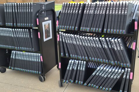 Contactless yearbook pick-up continues Friday with the classes of 2022 and 2023 being able to pick up their yearbook in front of the school from 10 a.m. - 3 p.m. Members of the classes of 2020 and 2021 that did not pick up their yearbooks on Tuesday, may do so Friday. Students who have not purchased a yearbook can still buy one at pick-up. Yearbooks will be $85, check only, written to Liberty High School with the student's ID number.