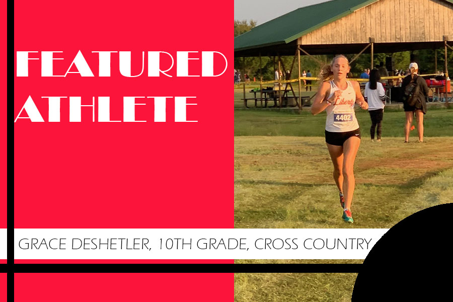 From cross country to soccer, sophomore Grace Deshetler gets her steps in as she often has practices for both sports on the same day. As a freshman, Deshetler made it to the state cross country meet and she is hoping for a return appearance this year.