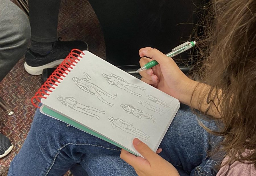 It all started in class when Laviolette realized she really had a knack for drawing.