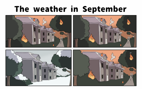 Fire and ice, weather this month everything but nice