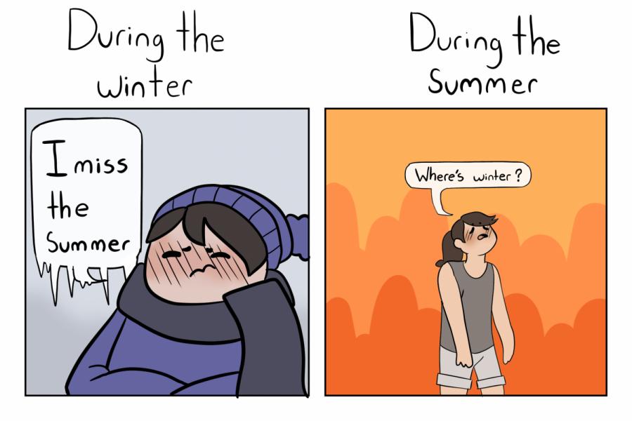 Seasonal longing