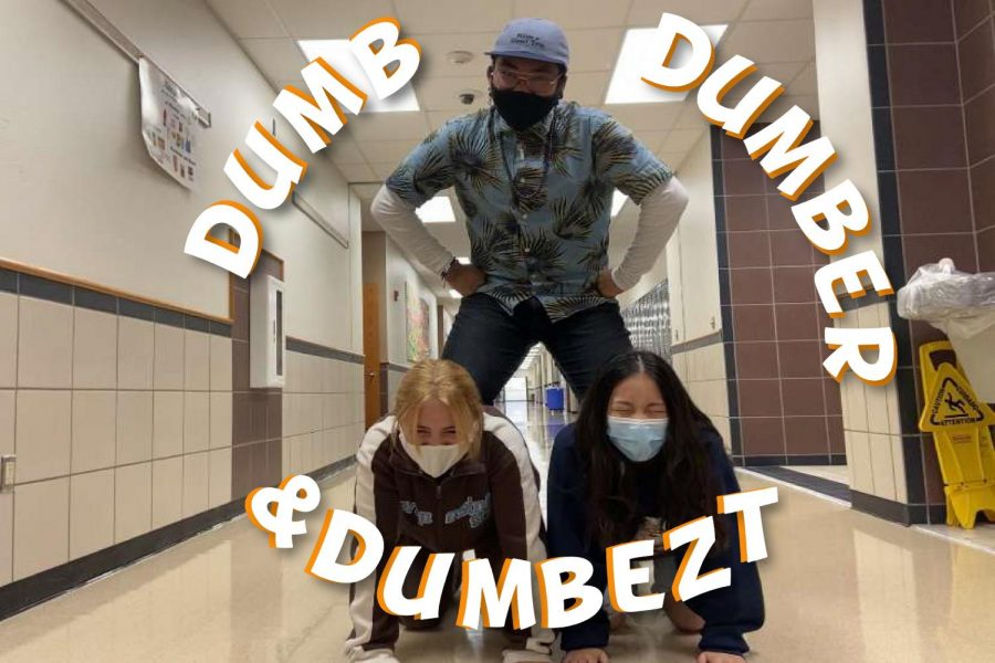 Now with three co-hosts, Michael Martin, Athena Tseng, and Jordan Battey talk about everyday things in the light-hearted podcast Dumb, Dumber, and Dumbezt.