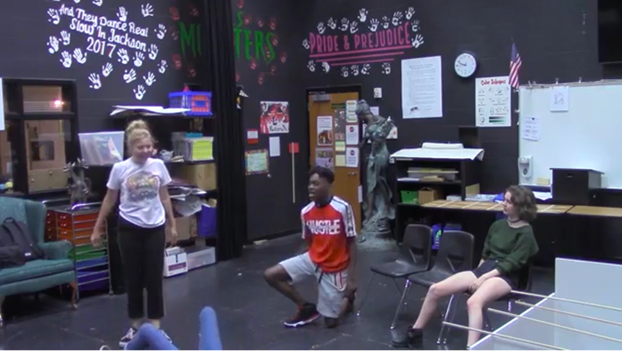 """Inaugurating the 2020-2021 school year, the theatre Improvisational Troupe performs on Thursday at 7 p.m. via Zoom. Though the show may be different, some actors hold the same mindset as they have with previous shows. """"My main goal with the show is the same that has been done with every other improv show and it's to have fun, senior Johnny Anderson said. Improv isn't anything complicated, its not meant to be stressful."""