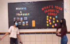 Selling yearbooks when half of the student body is in the virtual academy is difficult. Yearbook moves to TikTok to help remind student's to buy the yearbook.