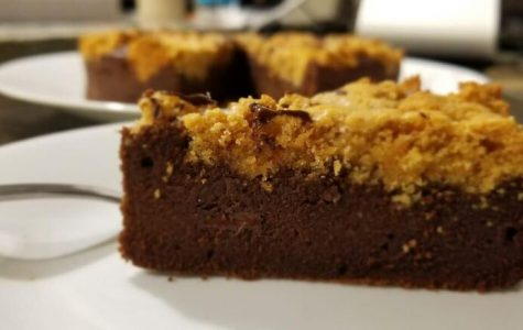 Goodbye Gluten: chocolate peanut butter brownies