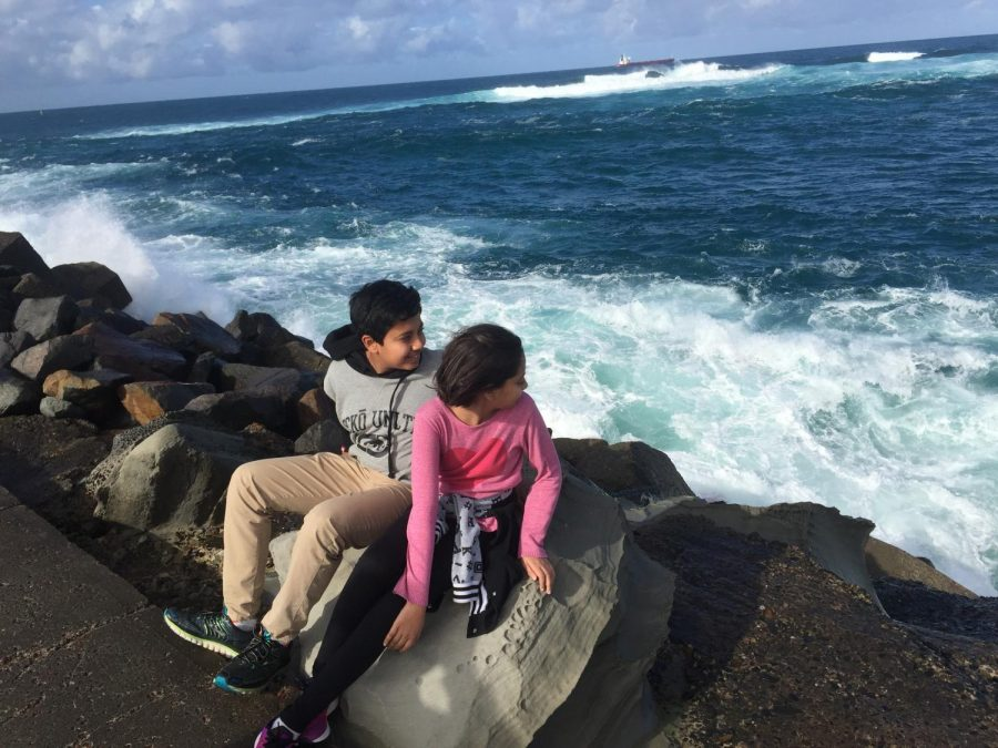 Moving to the United States was a big step for freshman Shruti Bhoyar. Pictured is where her and her family frequently visited back in Australia. For Bhoyar, Australia will always be home, despite the 9,000 mile distance.