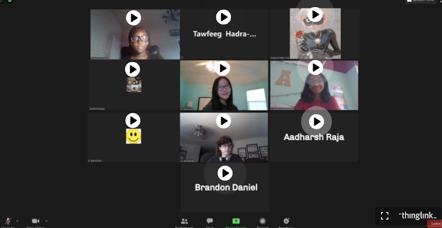 Students share their thoughts about online learning
