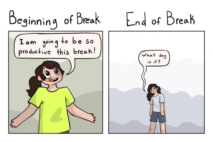 Back from break
