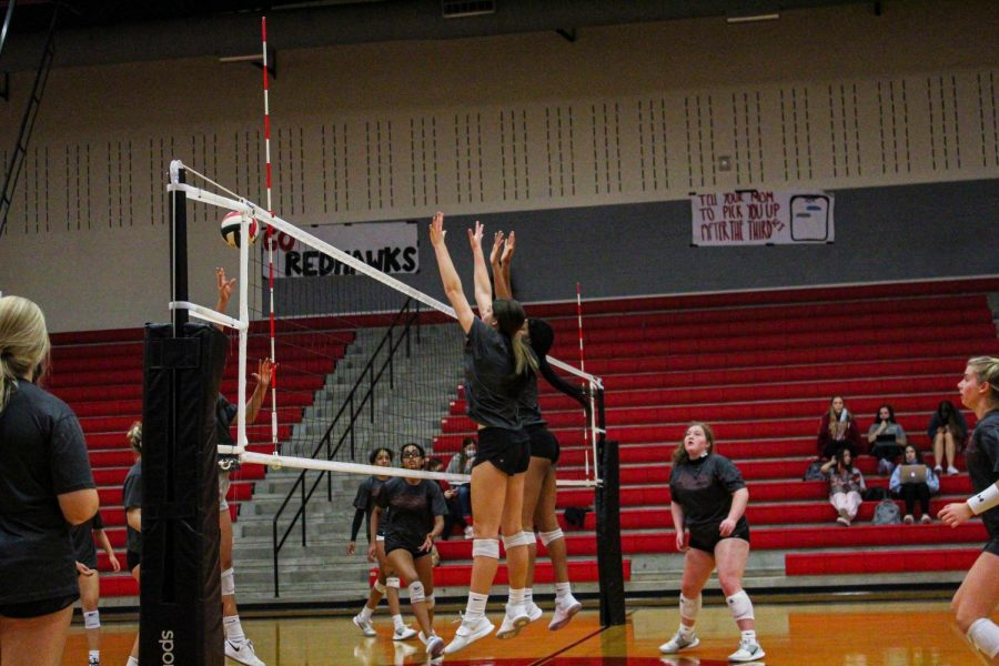 Volleyball currently stands at 2-3 in District 9-5A. The team is hopeful for a win against Heritage to even out their record.