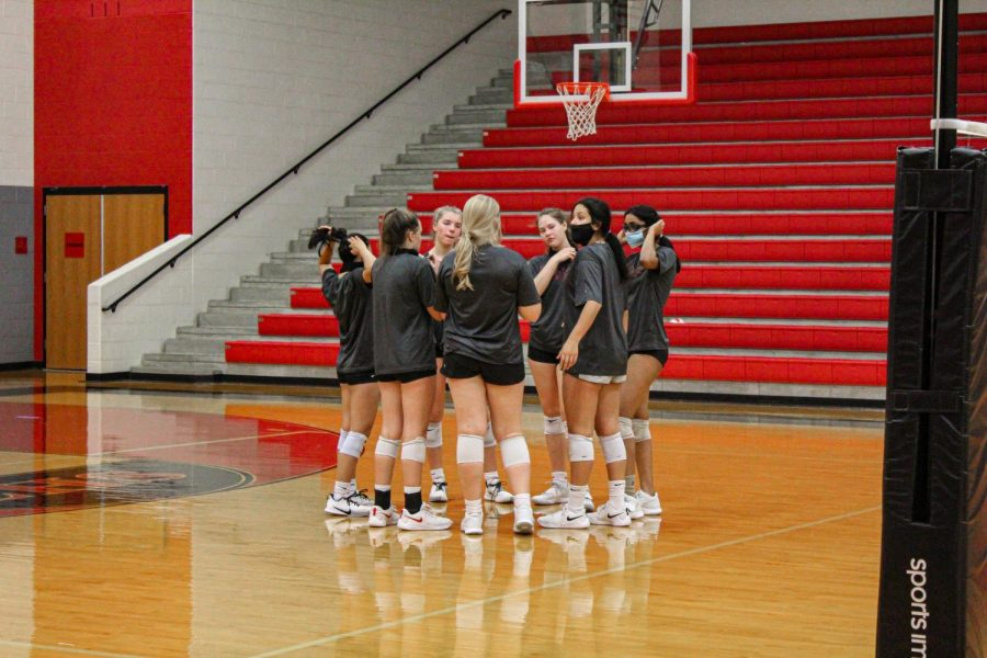 The Redhawks felt the wrath of the lions in their first District 9-5A match of the season. The team looks to continue improving as the season progresses.
