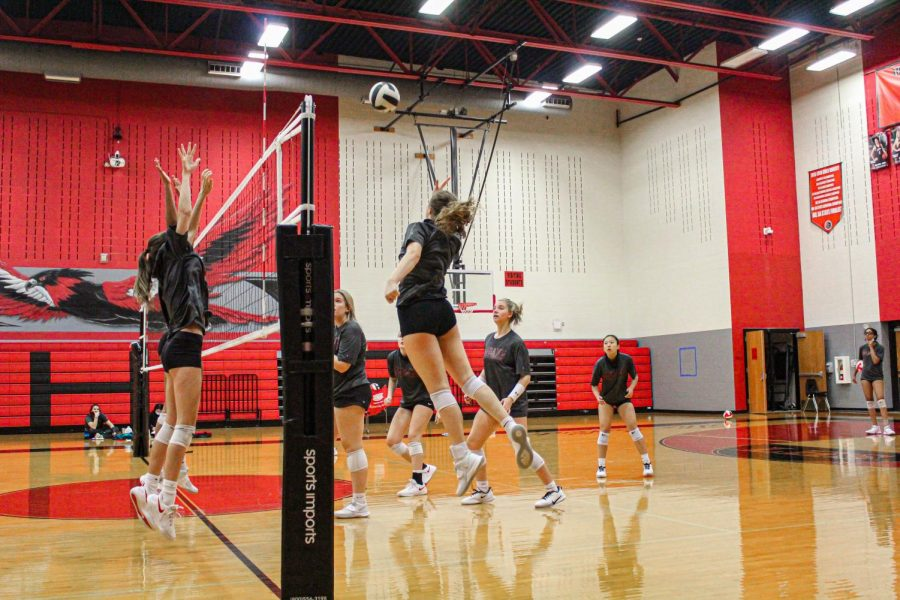 The Redhawks are seeking out a win in their next non-district contest game. With many new athletes competing, the team is excited to see their skills put to the test.
