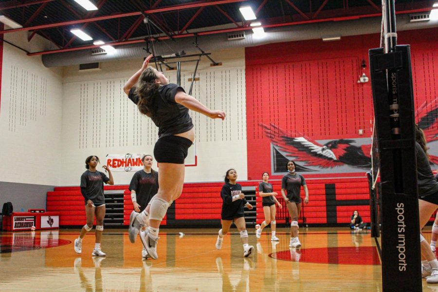 The+Redhawks+brought+home+a+3-1+win+against+the+Independence+Knights+on+Friday.+The+team+looks+to+continue+their+two+game+winning+streak+on+Tuesday+in+their+game+against+Wakeland+High+School.