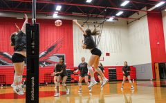 The volleyball team starts their first round of playoffs Friday night. The team takes on McKinney North as they try to make it to the second round.